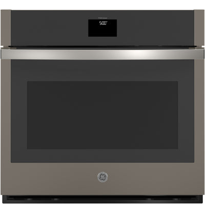 "GE 30"" Smart Built-In Convection Single Wall Oven - JTS5000ENES - Electric Wall Oven in Slate"