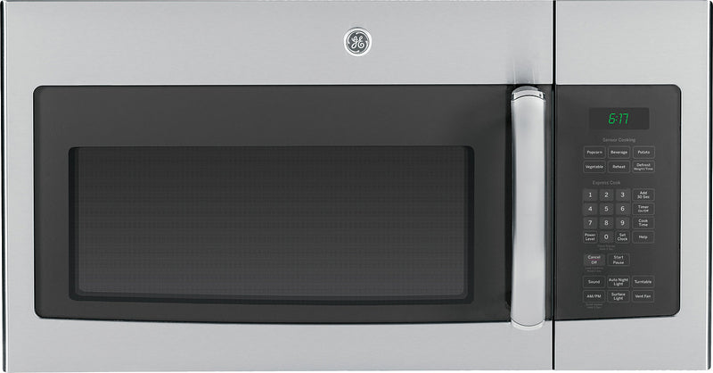 GE 1.6 Cu.Ft. Over-the-Range Microwave Oven - JVM1635SFC|Four à micro-ondes à hotte intégrée GE de 1,6 pi³ – JVM1635SFC