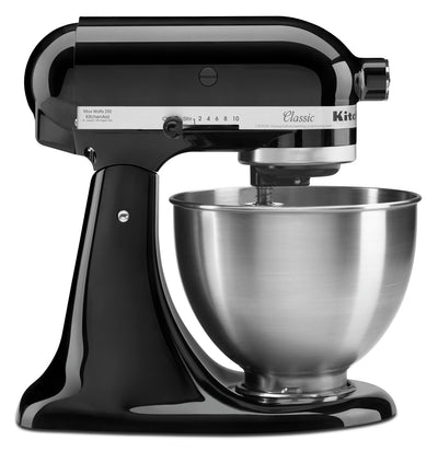 KitchenAid Classic Series 4.5-Quart Tilt-Head Stand Mixer - K45SSOB|Batteur sur socle à tête inclinable KitchenAid de série ClassicMD de 4,5 pintes - K45SSOB|K45SSTOB