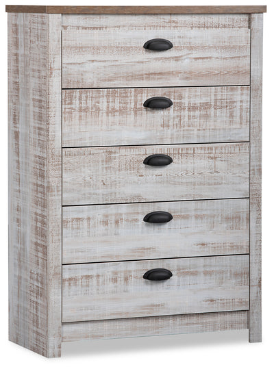 Kaia Chest - {Country} style Chest in Whitewash {Engineered Wood}