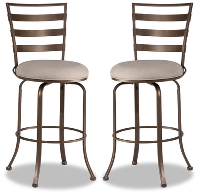 Kaufman Counter-Height Bar Stool, Set of 2|Tabouret Kaufman de hauteur comptoir, ensemble de 2|KAUFWCSP