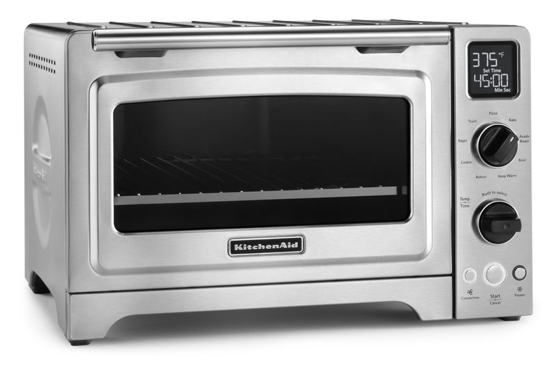 KitchenAid 12-Inch Convection Digital Countertop Oven - KCO273SS|Four de comptoir numérique KitchenAid de 12 po à convection - KCO273SS