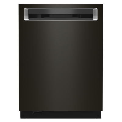 KitchenAid Top-Control Dishwasher with LED Lighting - KDPM804KBS - Dishwasher in Black Stainless Steel with PrintShield™ Finish