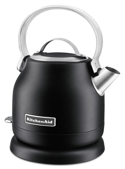 KitchenAid 1.25L Electric Kettle - KEK1222BM|Bouilloire électrique KitchenAid de 1,25 l – KEK1222BM|KEK1222B