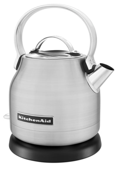 KitchenAid 1.25L Electric Kettle - KEK1222SX - Kettle in Brushed Stainless Steel