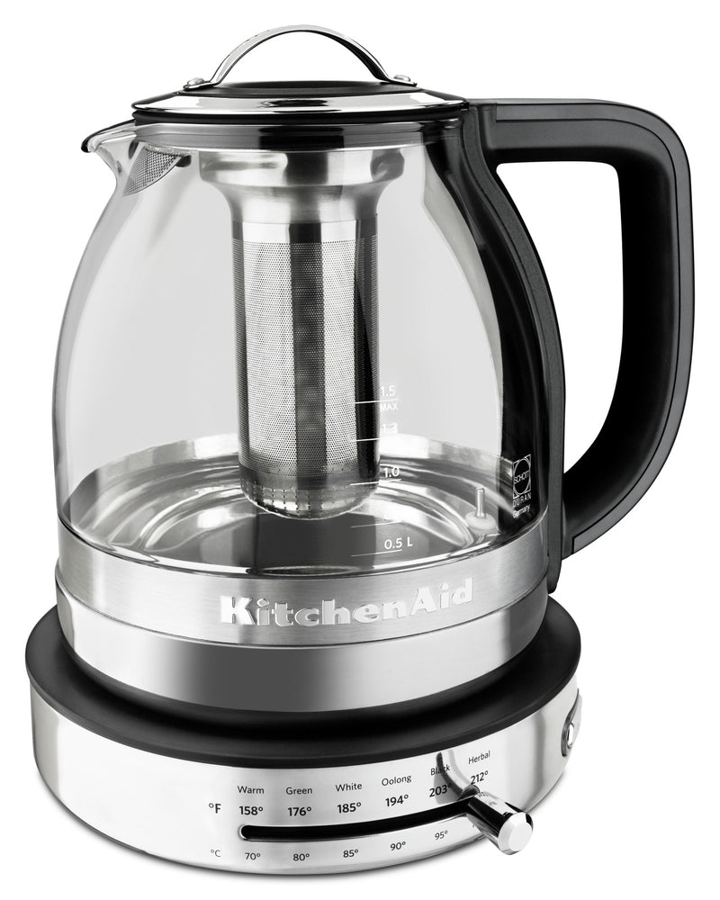 KitchenAid Glass Tea Kettle - KEK1322SS|Bouilloire en verre KitchenAid – KEK1322SS|KEK1322S