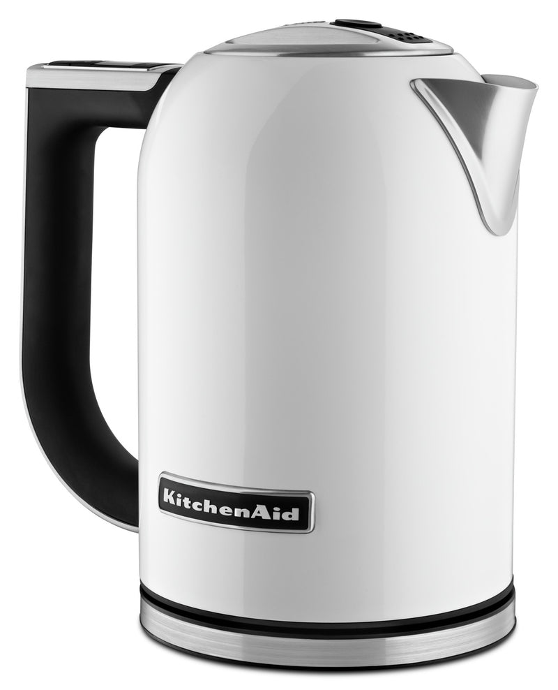 KitchenAid Variable Temperature Electric Kettle - KEK1722WH|Bouilloire électrique à température variable KitchenAid – KEK1722WH
