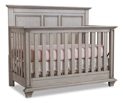 Kenilworth 4-in-1 Convertible Crib - {Traditional} style Crib in Stone wash {Solid Woods}