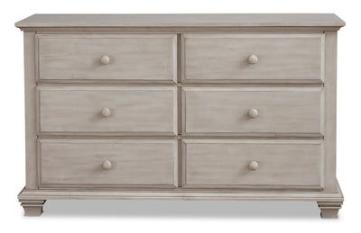 Kenilworth Dresser - {Traditional} style Dresser in Stone wash {Solid Woods}