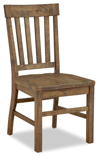 Keswick Dining Chair - Traditional style Dining Chair in Weathered Barley Pine