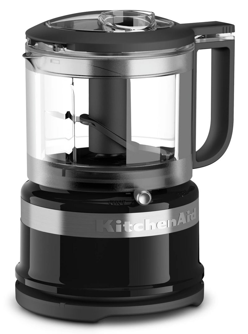 KitchenAid 3.5-Cup Mini Food Processor - KFC3516OB|Mini robot culinaire KitchenAid de 3,5 tasses - KFC3516OB