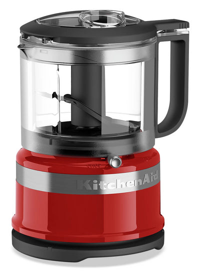 KitchenAid 3.5-Cup Mini Food Processor - KFC3516ER|Mini robot culinaire KitchenAid de 3,5 tasses - KFC3516ER|KFC3516R