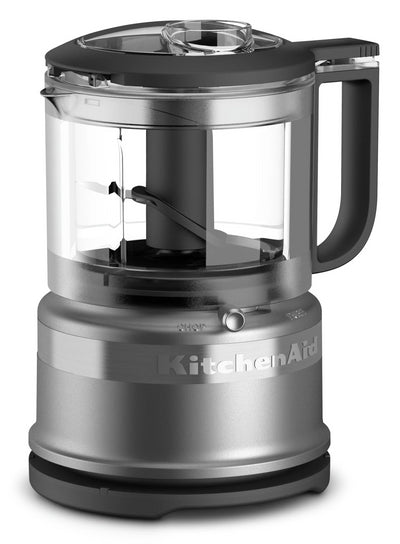KitchenAid 3.5-Cup Mini Food Processor - KFC3516CU - Food Processor in Contour Silver