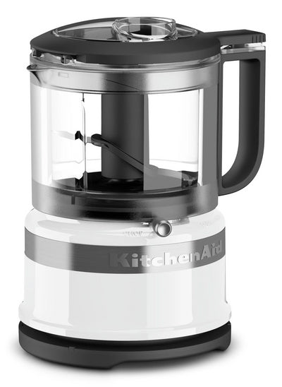 KitchenAid 3.5-Cup Mini Food Processor - KFC3516WH|Mini robot culinaire KitchenAid de 3,5 tasses - KFC3516WH|KFC3516W
