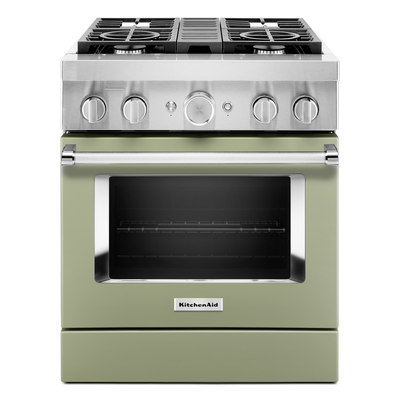 KitchenAid 30'' Smart Commercial-Style Dual Fuel Range - KFDC500JAV