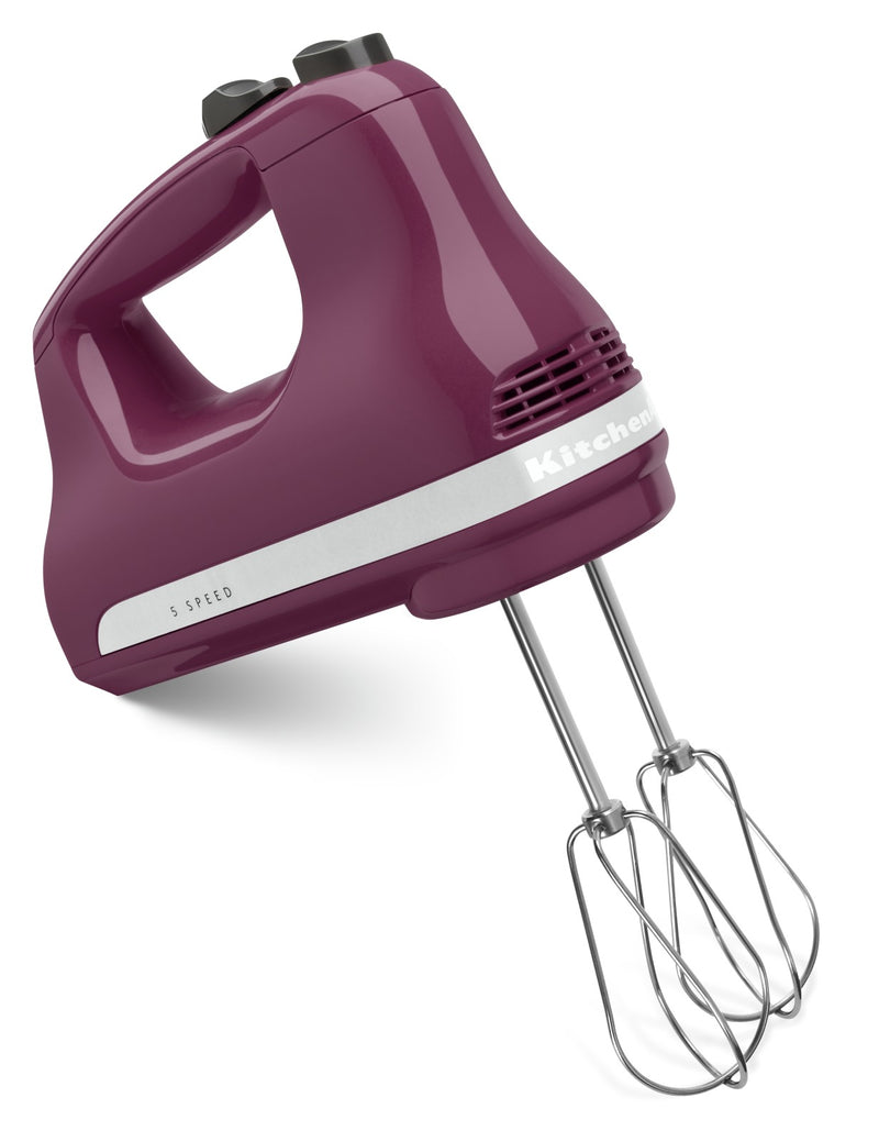 KitchenAid 5-Speed Ultra Power Hand Mixer - KHM512BY|Batteur à main Ultra PowerMC à 5 vitesses KitchenAid - KHM512BY|KHM512BY