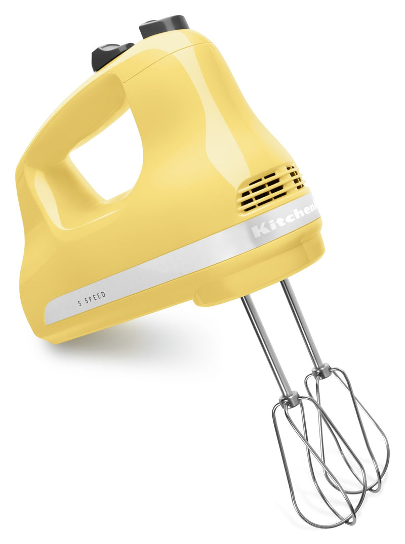 KitchenAid 5-Speed Ultra Power Hand Mixer - KHM512MY|Batteur à main Ultra PowerMC à 5 vitesses KitchenAid - KHM512MY|KHM512MY