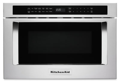 KitchenAid Under-Counter Microwave Oven Drawer - KMBD104GSS|Tiroir four à micro-ondes sous le comptoir KitchenAid - KMBD104GSS|KMBD104S