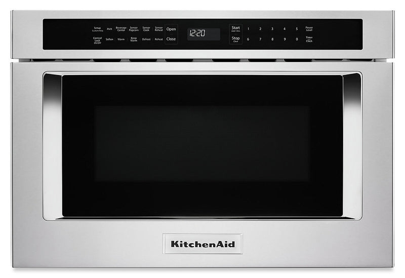 KitchenAid Under-Counter Microwave Oven Drawer - KMBD104GSS|Tiroir four à micro-ondes sous le comptoir KitchenAid - KMBD104GSS