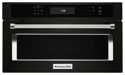 "KitchenAid 30"" Built-In Microwave Oven with Convection Cooking - KMBP100EBS