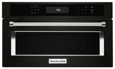 "KitchenAid 27"" Built-In Microwave Oven with Convection Cooking - KMBP107EBS
