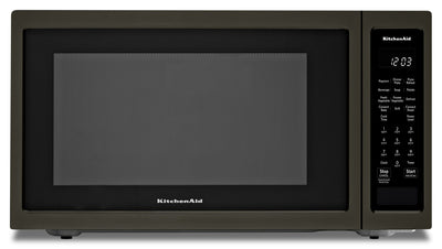 KitchenAid Countertop Convection Microwave Oven - KMCC5015GBS|Four à micro-ondes de comptoir KitchenAid à convection - KMCC5015GBS|KMCC501G