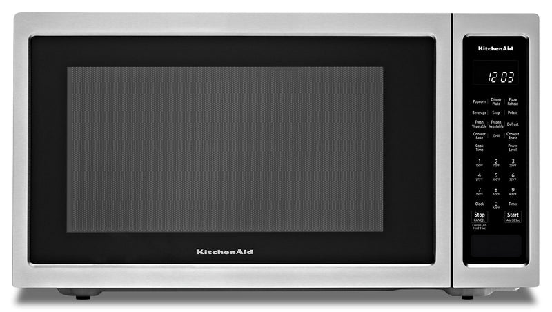 KitchenAid Countertop Convection Microwave Oven - KMCC5015GSS|Four à micro-ondes de comptoir KitchenAid à convection - KMCC5015GSS