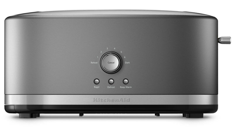 KitchenAid Four-Slice Long Slot Toaster - KMT4116CU|Grille-pain KitchenAid à fentes longues pour 4 tranches - KMT4116CU