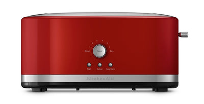 KitchenAid Four-Slice Long Slot Toaster - KMT4116ER - Toaster in Empire Red