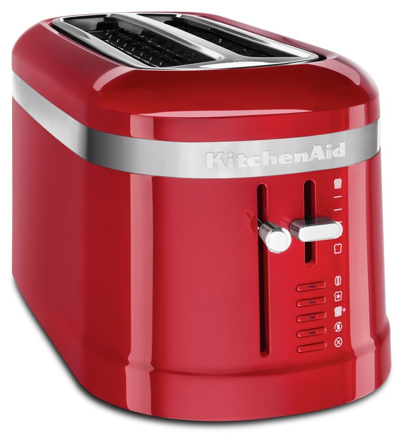 KitchenAid Four-Slice Long Slot Toaster - KMT5115ER|Grille-pain KitchenAid à fentes longues pour 4 tranches - KMT5115ER|KMT5115R