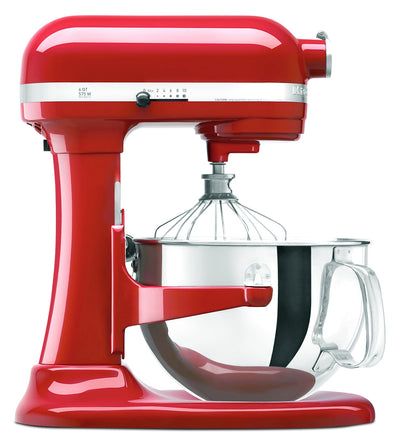 KitchenAid Professional 600 Series Stand Mixer - KP26M1XER - Mixer in Empire Red