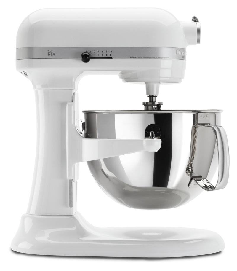 KitchenAid Professional 600 Series Stand Mixer - KP26M1XWH|Batteur sur socle de la série Professional 600MC de KitchenAid - KP26M1XWH|KP26M1XW