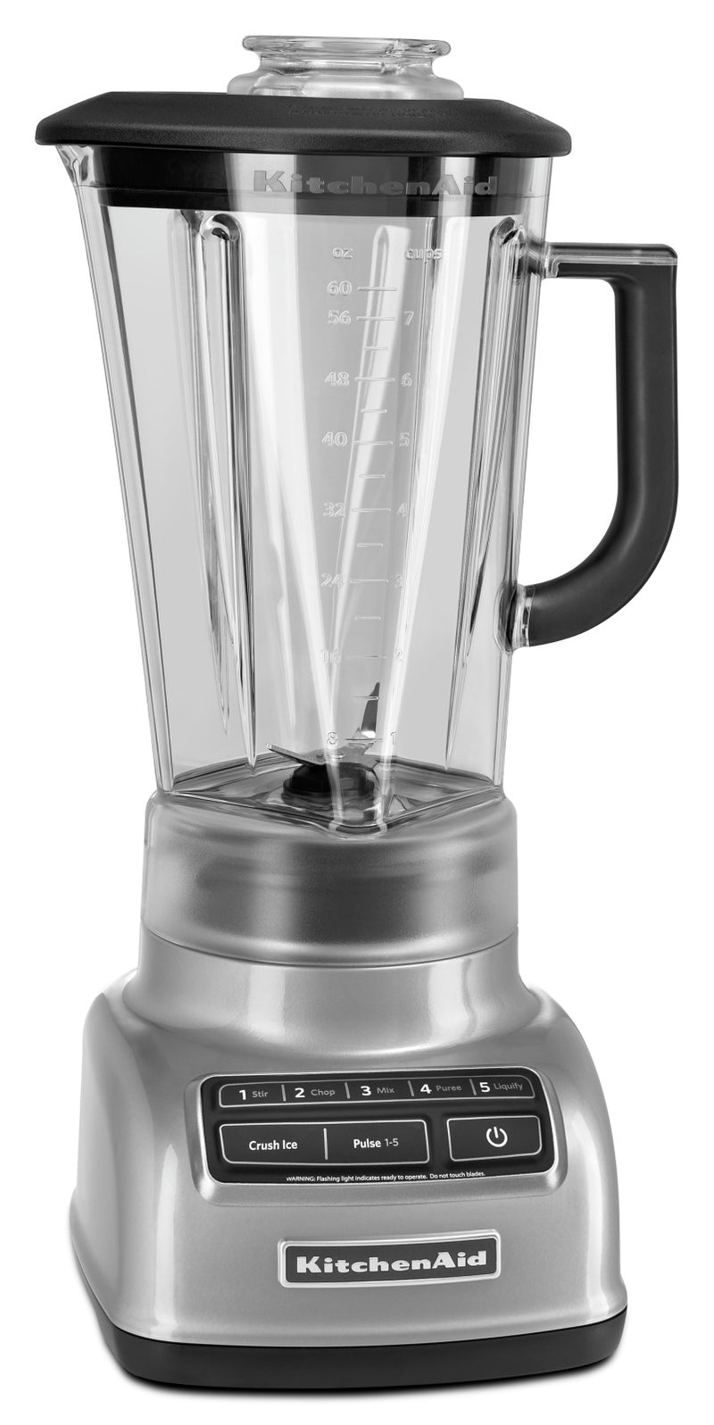 KitchenAid Five-Speed Diamond Blender - KSB1575MC|Mélangeur à base losange à cinq vitesses KitchenAid - KSB1575MC|KSB1575M