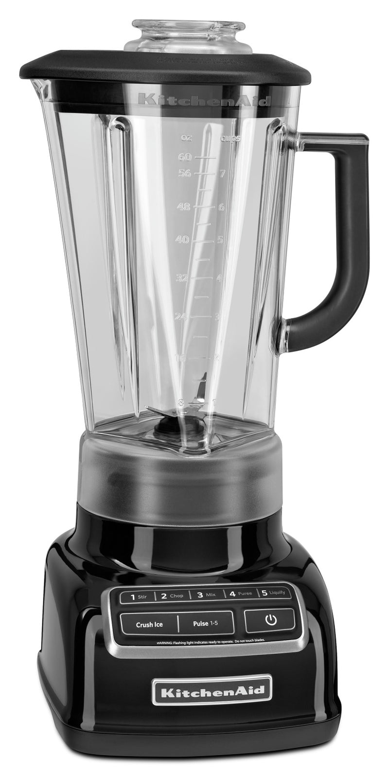 KitchenAid Five-Speed Diamond Blender - KSB1575OB|Mélangeur à base losange à cinq vitesses KitchenAid - KSB1575OB