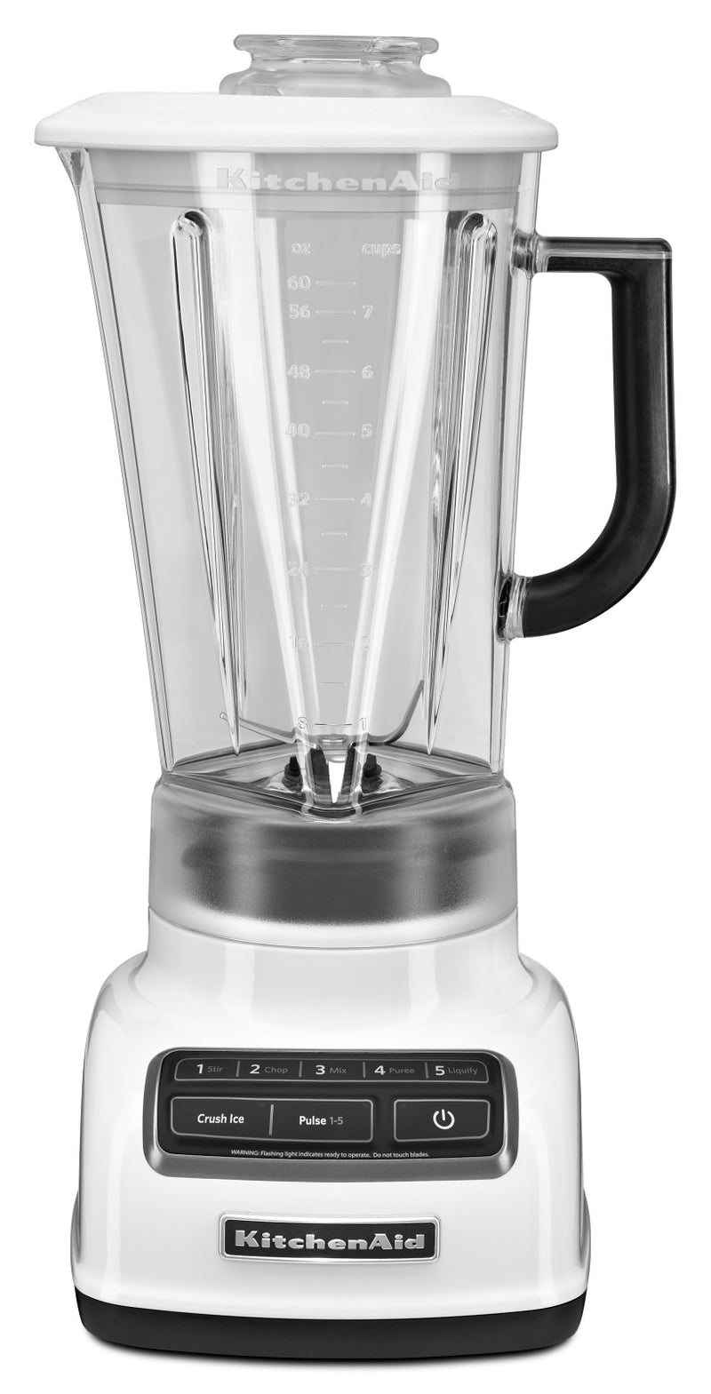 KitchenAid Five-Speed Diamond Blender - KSB1575WH|Mélangeur à base losange à cinq vitesses KitchenAid - KSB1575WH|KSB1575W