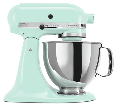 KitchenAid Artisan Series 5-Quart Tilt-Head Stand Mixer - KSM150PSIC - Mixer in Ice Blue