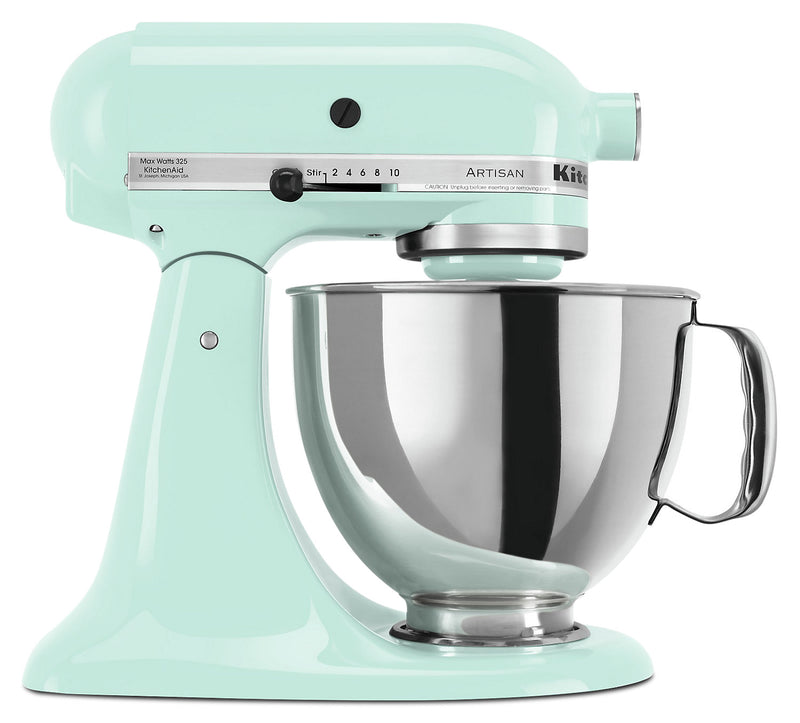 KitchenAid Artisan Series 5-Quart Tilt-Head Stand Mixer - KSM150PSIC|Batteur sur socle à tête inclinable KitchenAid de 5 pintes de la série Artisan - KSM150PSIC