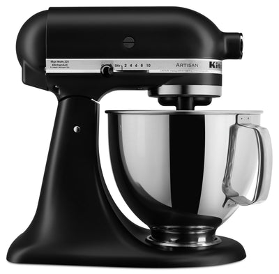 KitchenAid Artisan Series 5-Quart Tilt-Head Stand Mixer - KSM150PSBM|Batteur sur socle à tête inclinable KitchenAid de 5 pintes de la série Artisan - KSM150PSBM|KSM150PM