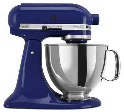 KitchenAid Artisan Series 5-Quart Tilt-Head Stand Mixer - KSM150PSBU|Batteur sur socle à tête inclinable KitchenAid de 5 pintes de la série Artisan - KSM150PSBU|KSM150CB