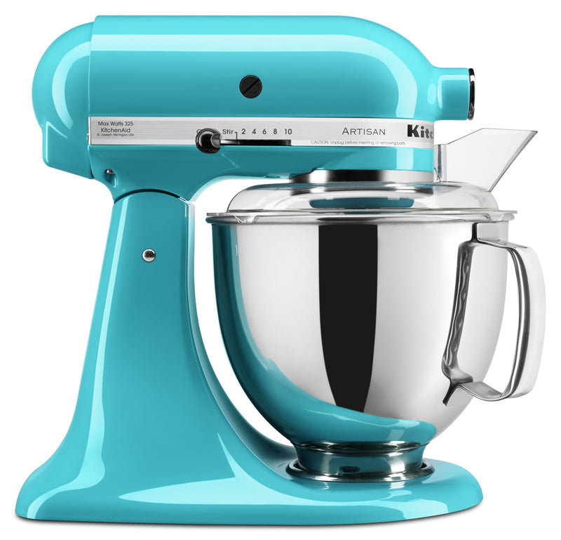KitchenAid Artisan Series 5-Quart Tilt-Head Stand Mixer - KSM150PSCL|Batteur sur socle à tête inclinable KitchenAid de 5 pintes de la série Artisan - KSM150PSCL|KSM150CL