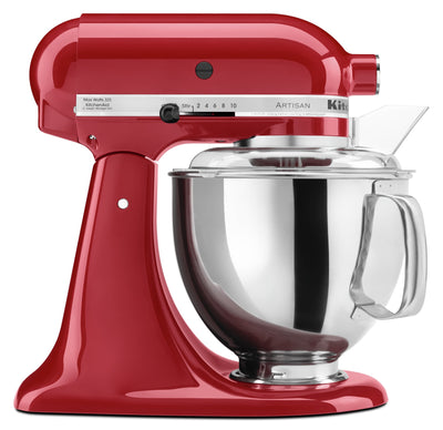 KitchenAid Artisan Series 5-Quart Tilt-Head Stand Mixer - KSM150PSER - Mixer in Empire Red