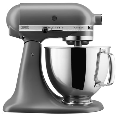 KitchenAid Artisan Series 5-Quart Tilt-Head Stand Mixer - KSM150PSFG|Batteur sur socle à tête inclinable KitchenAid de 5 pintes de la série Artisan - KSM150PSFG|KSM150FG