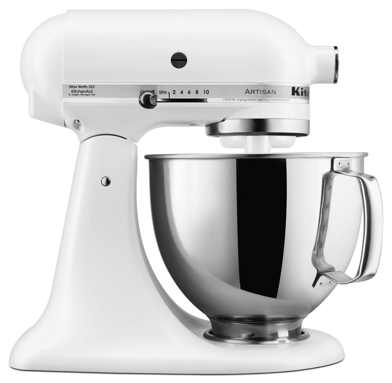 KitchenAid Artisan Series 5-Quart Tilt-Head Stand Mixer - KSM150PSFW|Batteur sur socle à tête inclinable KitchenAid de 5 pintes de la série Artisan - KSM150PSFW|KSM150MW