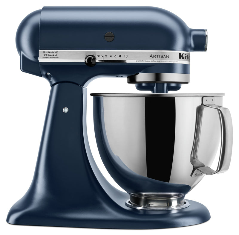 KitchenAid Artisan Series 5-Quart Tilt-Head Stand Mixer - KSM150PSIB|Batteur sur socle à tête inclinable KitchenAid de 5 pintes de la série Artisan - KSM150PSIB|KSM150IB