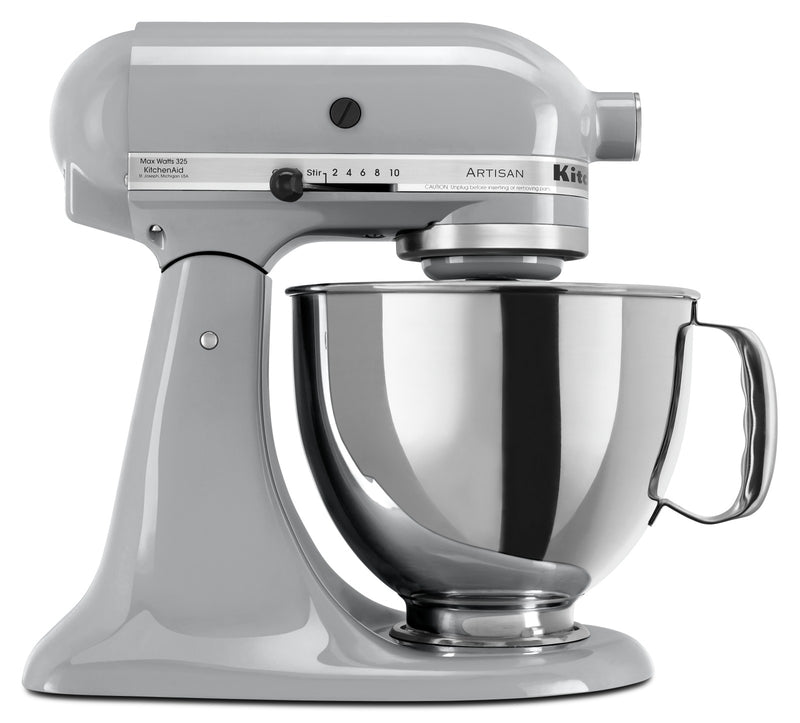 KitchenAid Artisan Series 5-Quart Tilt-Head Stand Mixer - KSM150PSMC|Batteur sur socle à tête inclinable KitchenAid de 5 pintes de la série Artisan - KSM150PSMC|KSM150MC