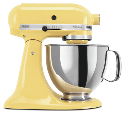 KitchenAid Artisan Series 5-Quart Tilt-Head Stand Mixer - KSM150PSMY - Mixer in Majestic Yellow
