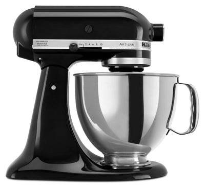 KitchenAid Artisan Series 5-Quart Tilt-Head Stand Mixer - KSM150PSOB|Batteur sur socle à tête inclinable KitchenAid de 5 pintes de la série Artisan - KSM150PSOB|KSM150OB