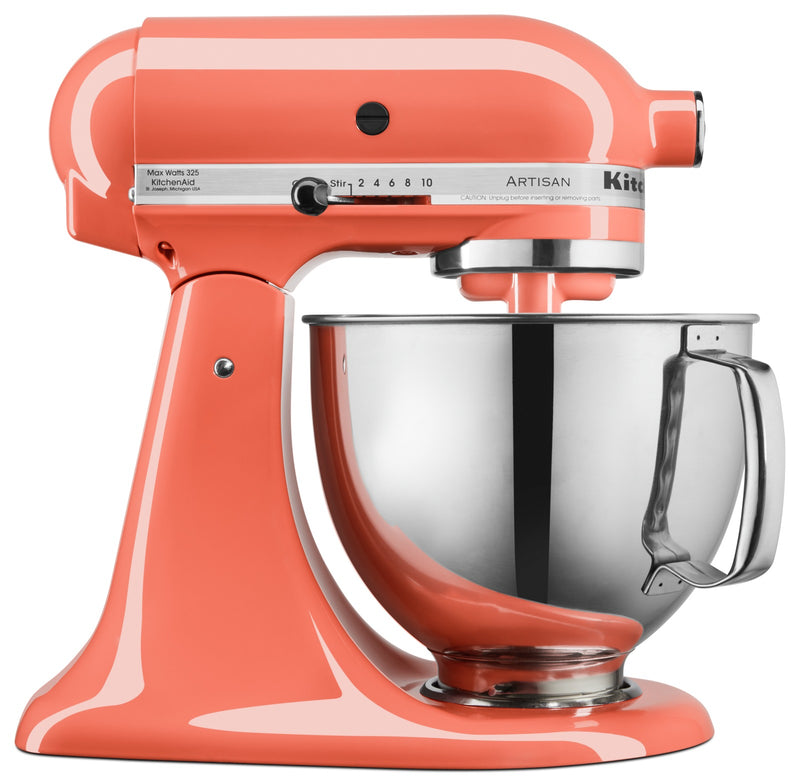 KitchenAid Artisan Series 5-Quart Tilt-Head Stand Mixer - KSM150PSPH|Batteur sur socle à tête inclinable KitchenAid de 5 pintes de la série Artisan - KSM150PSPH|KSM150PH