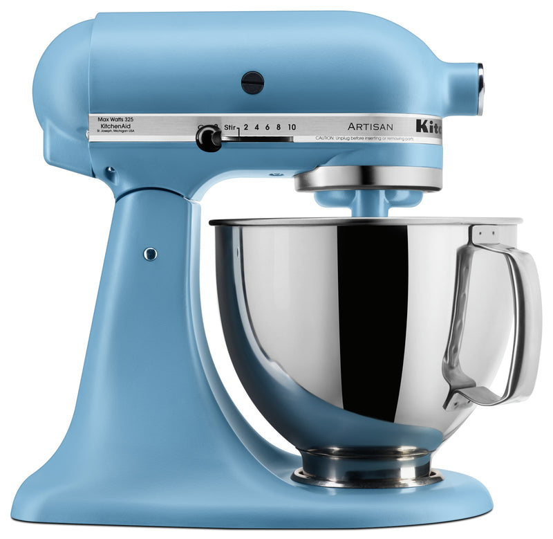 KitchenAid Artisan Series 5-Quart Tilt-Head Stand Mixer - KSM150PSVB|Batteur sur socle à tête inclinable KitchenAid de 5 pintes de la série Artisan - KSM150PSVB|KSM150VB