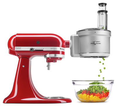 KitchenAid ExactSlice™ Food Processor Attachment - KSM2FPA|Accessoire robot culinaire ExactSliceMC de KitchenAid - KSM2FPA|KSM2FPA9